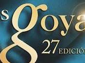 Goyas 2013 Premiados