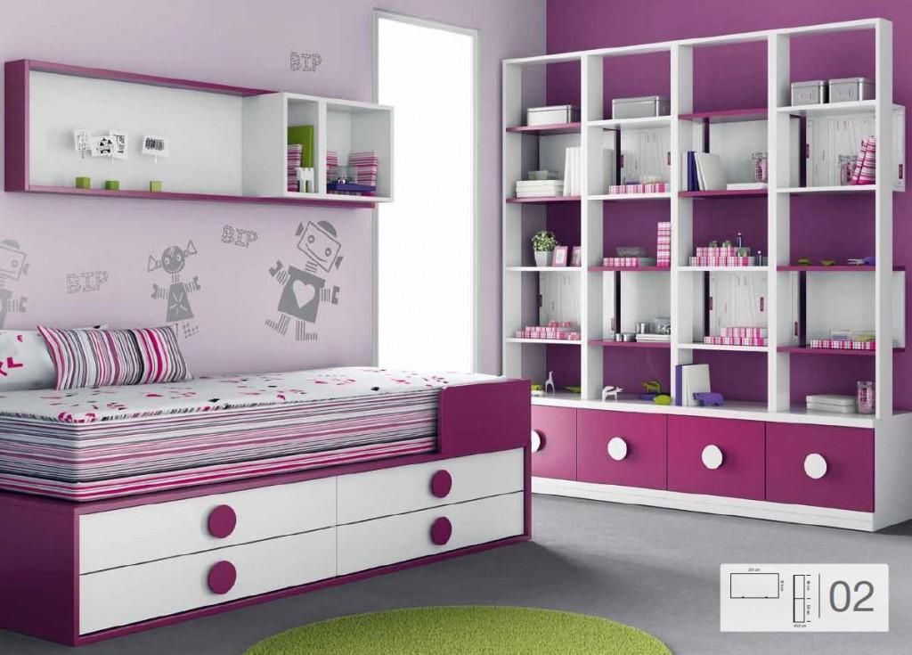 Consejos antes de pintar una habitaci n juvenil infantil - Habitacion infantil juvenil ...