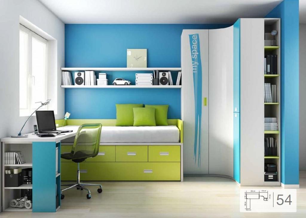 Consejos antes de pintar una habitaci n juvenil infantil for Muebles de dormitorio infantil