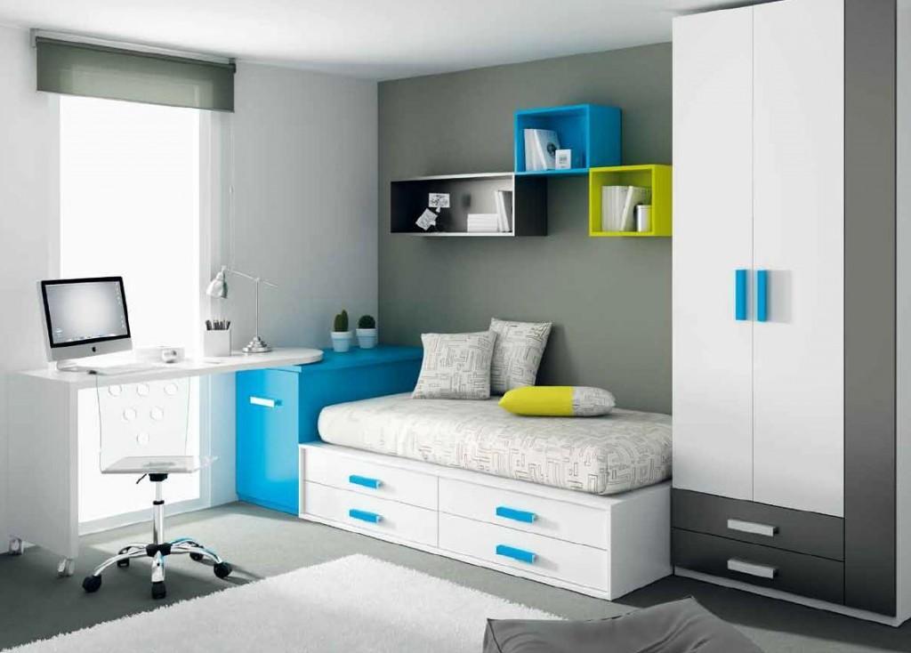 Consejos antes de pintar una habitaci n juvenil infantil for Armarios roperos para habitaciones pequenas