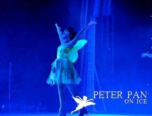 Peter Pan en el palacio de deportes.