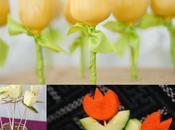 Recetas forma tulipán