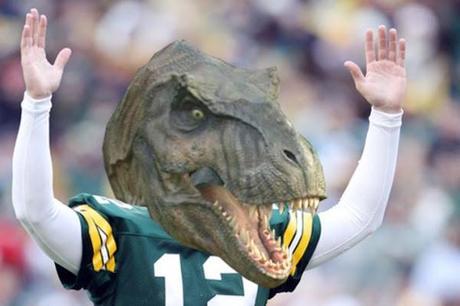 ¿Y si los dinosaurios jugasen a fútbol americano?