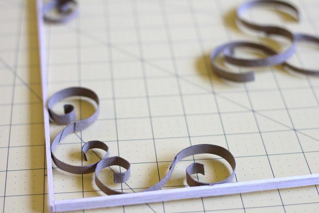 DIY: Celosía con los cartones del papel higiénico.