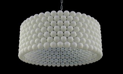 Como hacer una l mpara con pelotas de ping pong paperblog - Como hacer una lampara ...