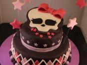 Tarta Monster High. ¡¡¡Felicidades Cris!!!