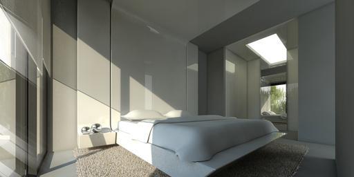 A cero presenta un proyecto de viviendas pareadas en - Cabecero mesillas integradas ...