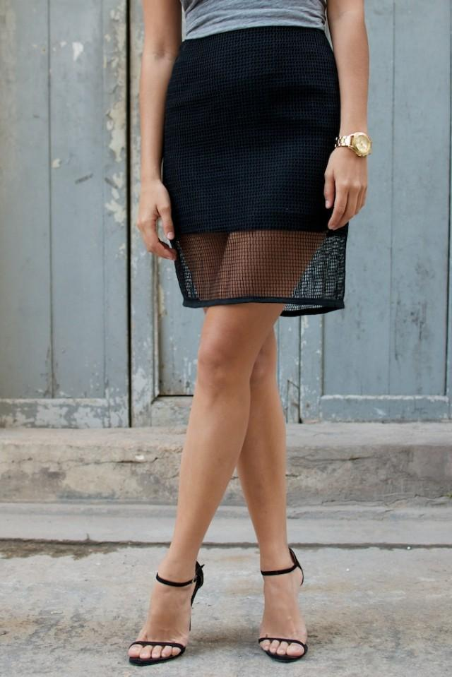 Pencil skirt Street Style - Paperblog