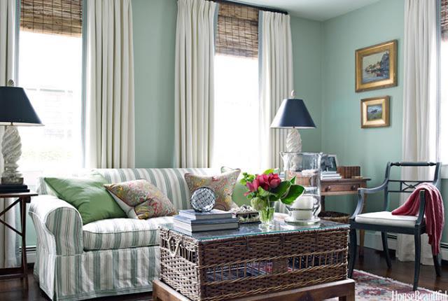 Una Casa Decorada En Color Palladian Blue Paperblog