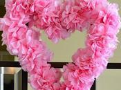 Manualidades para valentin: corazon flores