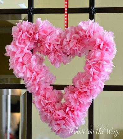 Manualidades para san valentin corazon de flores paperblog - Decorar para san valentin ...