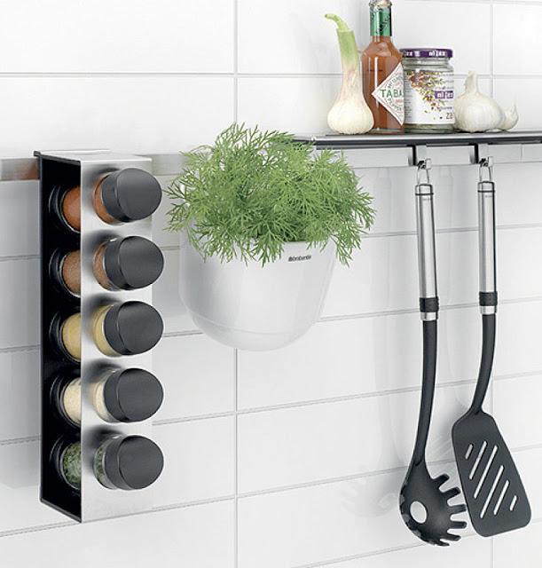 Accesorios de pared para organizar la cocina paperblog - Ikea botes cocina ...