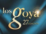 favoritas: Premios Goya 2013
