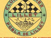 ajedrez Pobla Lillet IV): Torneo Nacional 1958, triunfo ex-subcampeón España Miquel Albareda
