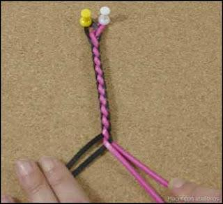 Trenza redonda de 4 cabos