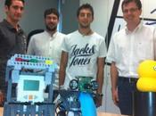 Robot para rehabilitación cognitiva infantil