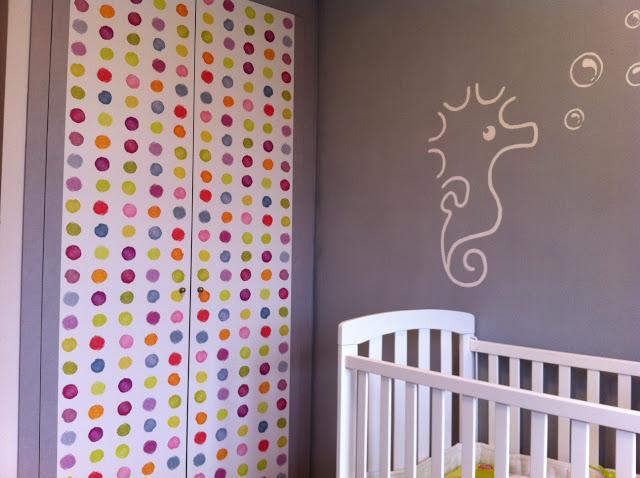 Diy x4duros 39 13 armario infantil de sandra paperblog for Como empapelar puertas
