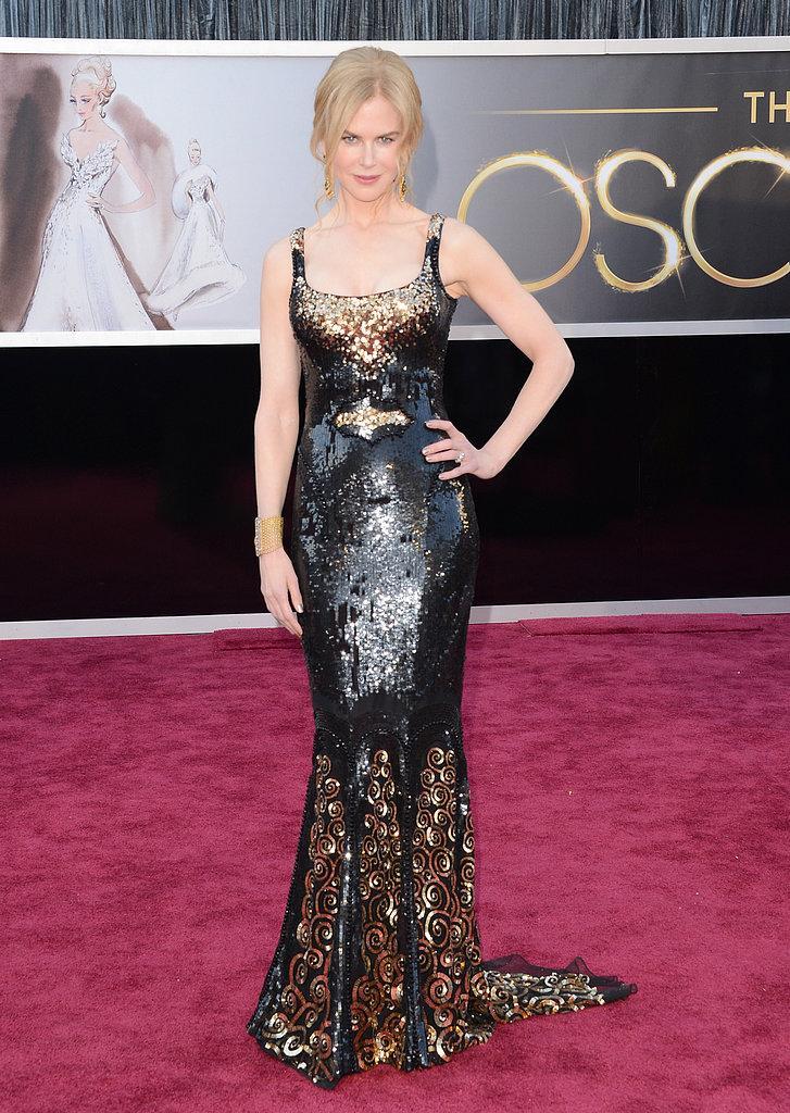 Nicole Kidman1 Oscars 2013: Los mejores looks en la alfombra roja de los Oscars 2013