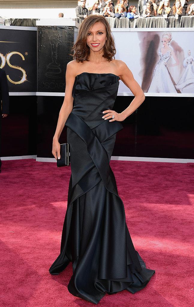 Giuliana Rancic en un Rafael Cennamo Oscars 2013: Los mejores looks en la alfombra roja de los Oscars 2013