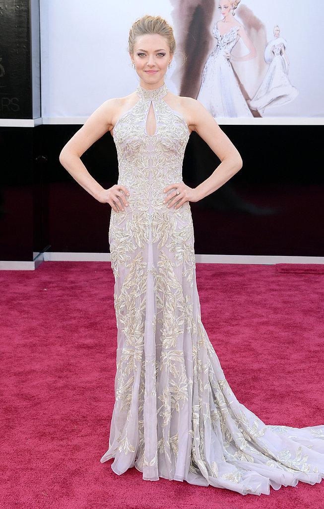 Amanda Seyfried en un Alexander McQueen Oscars 2013: Los mejores looks en la alfombra roja de los Oscars 2013