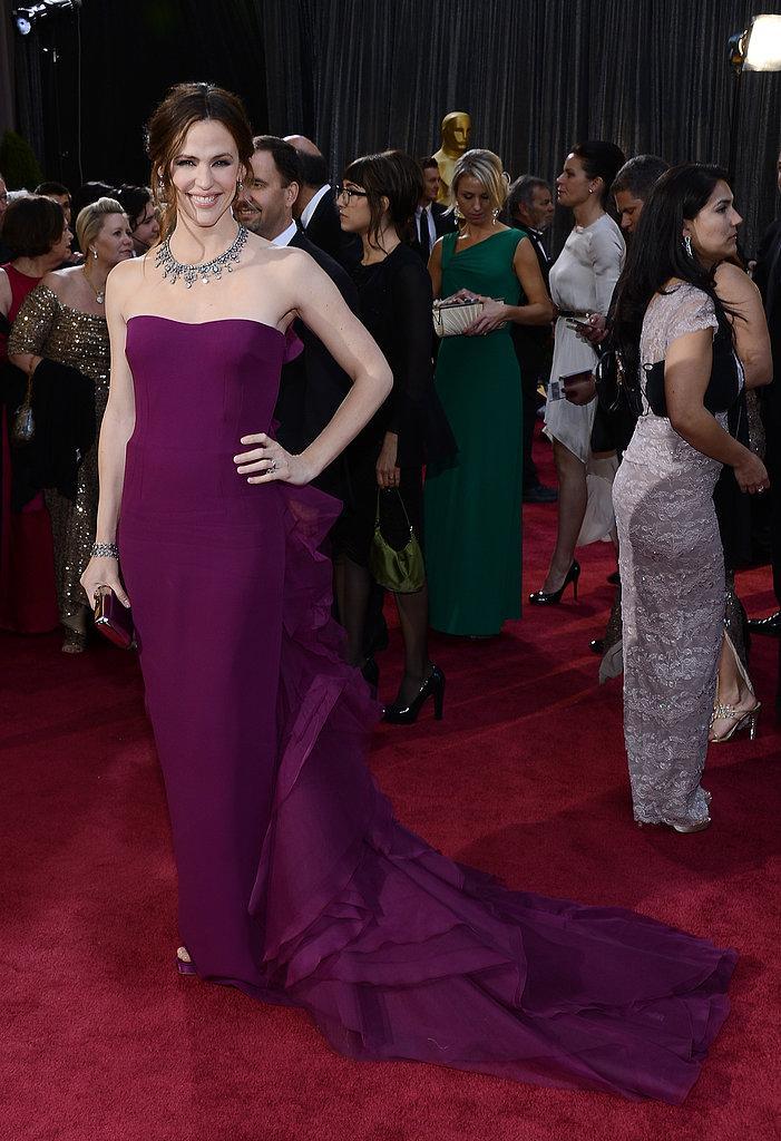 Jennifer Garner Oscars 2013: Los mejores looks en la alfombra roja de los Oscars 2013
