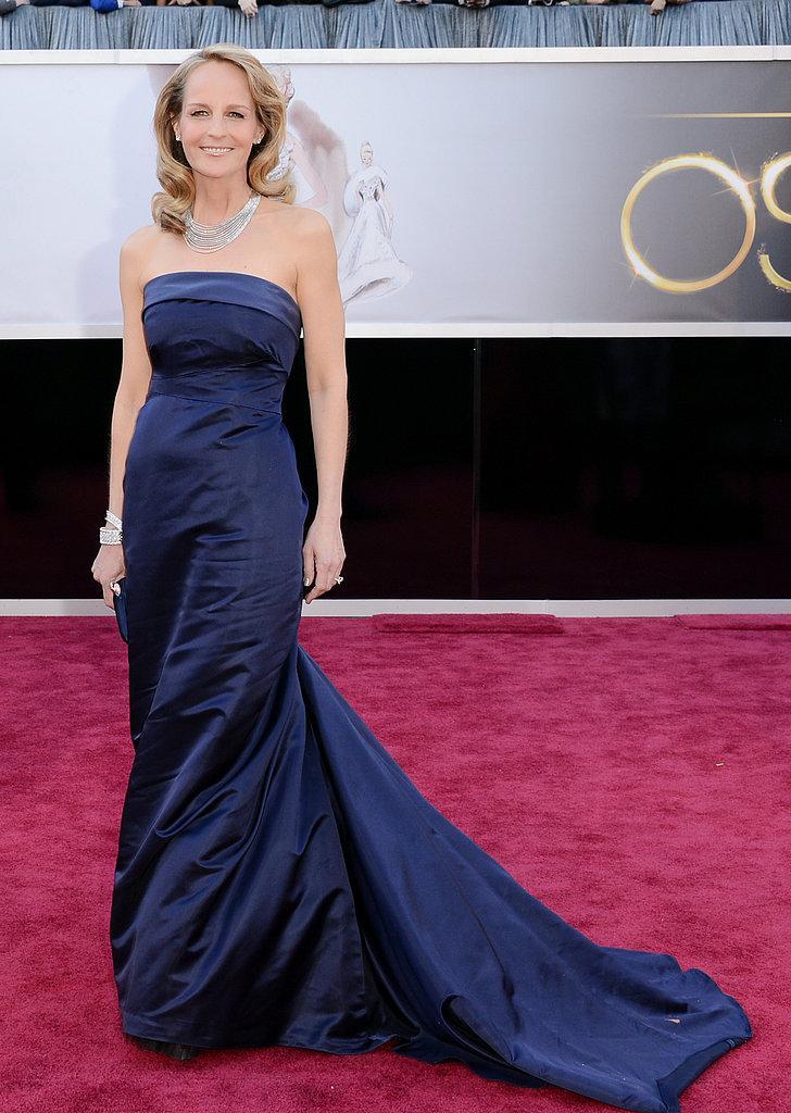 Helen Hunt en un HM Global Green Oscars 2013: Los mejores looks en la alfombra roja de los Oscars 2013