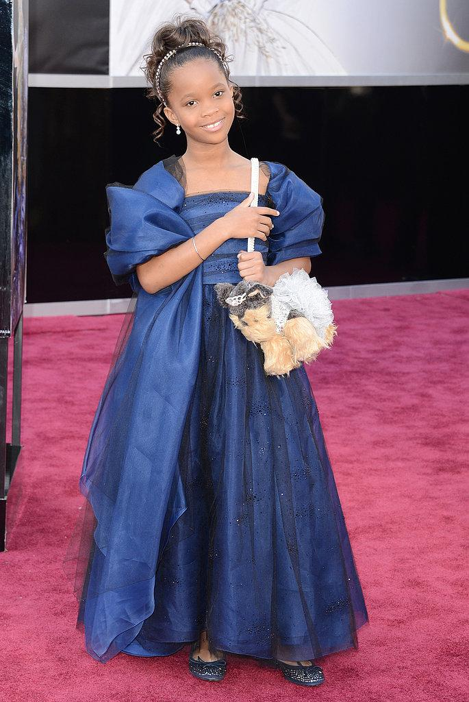 Quvenzhan Wallis Oscars 2013: Los mejores looks en la alfombra roja de los Oscars 2013