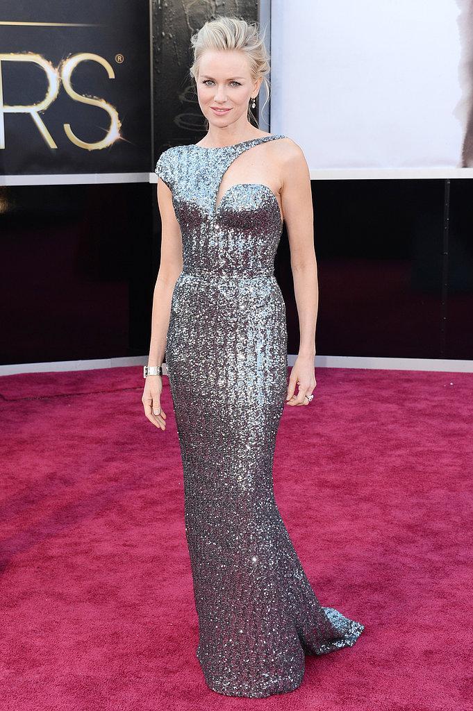 Naomi Watts en Armani Oscars 2013: Los mejores looks en la alfombra roja de los Oscars 2013