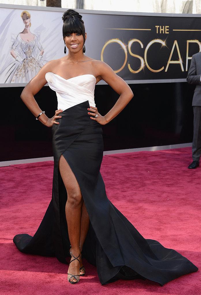 Kelly Rowland en Donna Karan Oscars 2013: Los mejores looks en la alfombra roja de los Oscars 2013