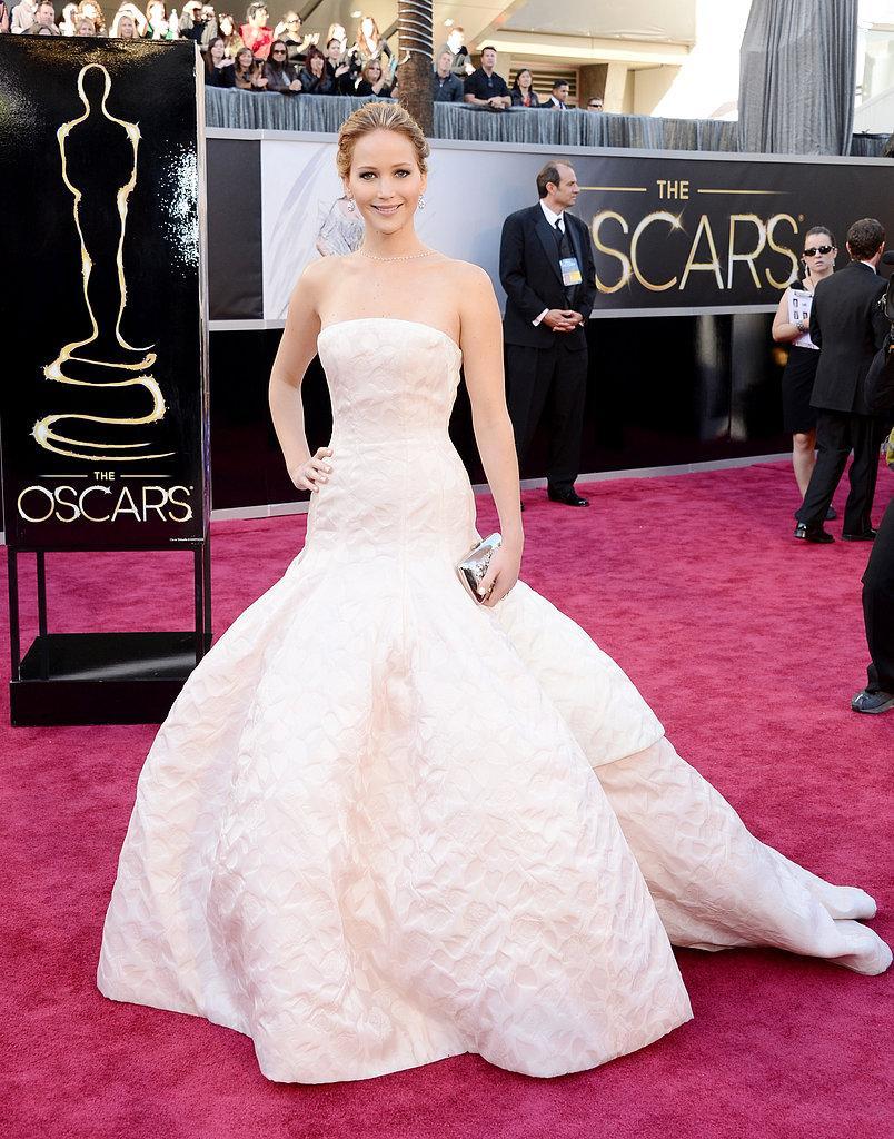 Jennifer Lawrence en Dior Oscars 2013: Los mejores looks en la alfombra roja de los Oscars 2013