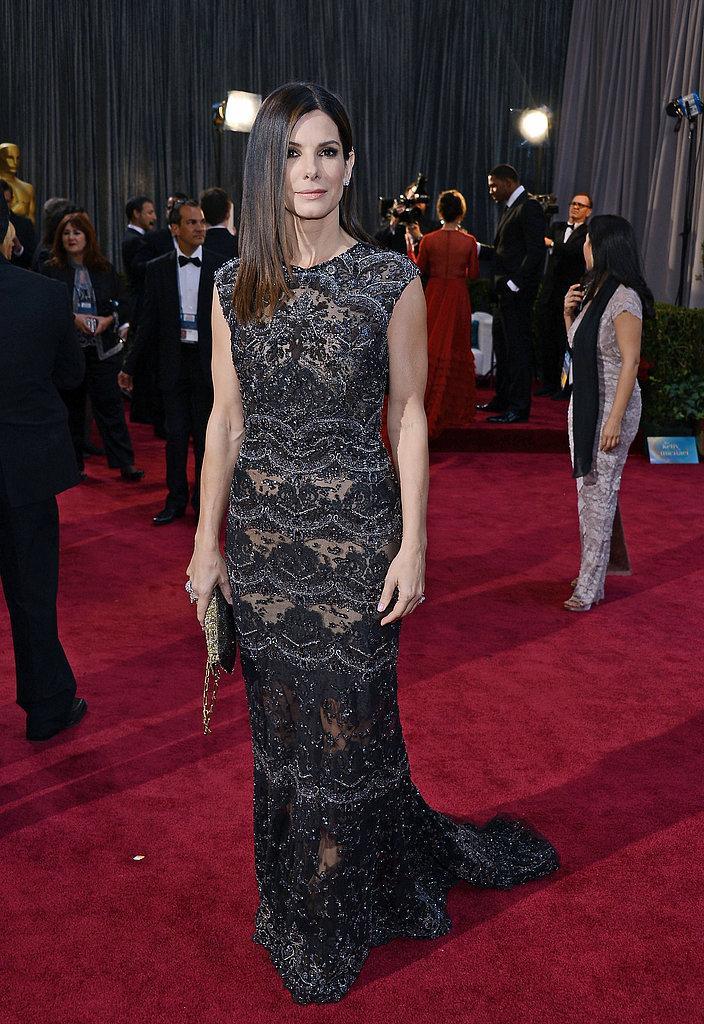 Sandra Bullock Oscars 2013: Los mejores looks en la alfombra roja de los Oscars 2013
