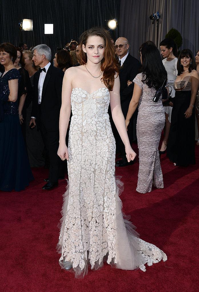 Kristen Stewart Oscars 2013: Los mejores looks en la alfombra roja de los Oscars 2013