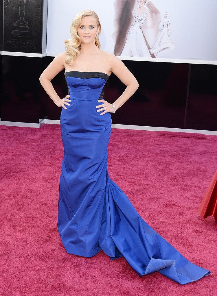 Reese Witherspoon en un Louis Vuitton Oscars 2013: Los mejores looks en la alfombra roja de los Oscars 2013