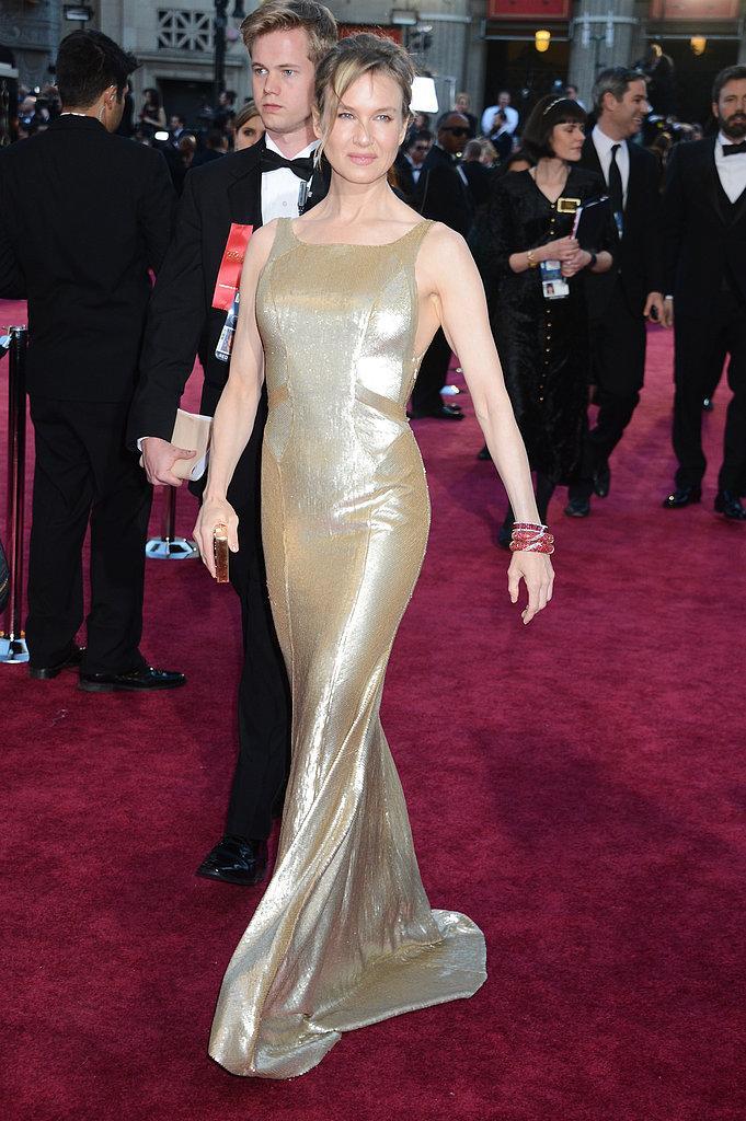 Rene Zellweger con Carolina Herrera Oscars 2013: Los mejores looks en la alfombra roja de los Oscars 2013