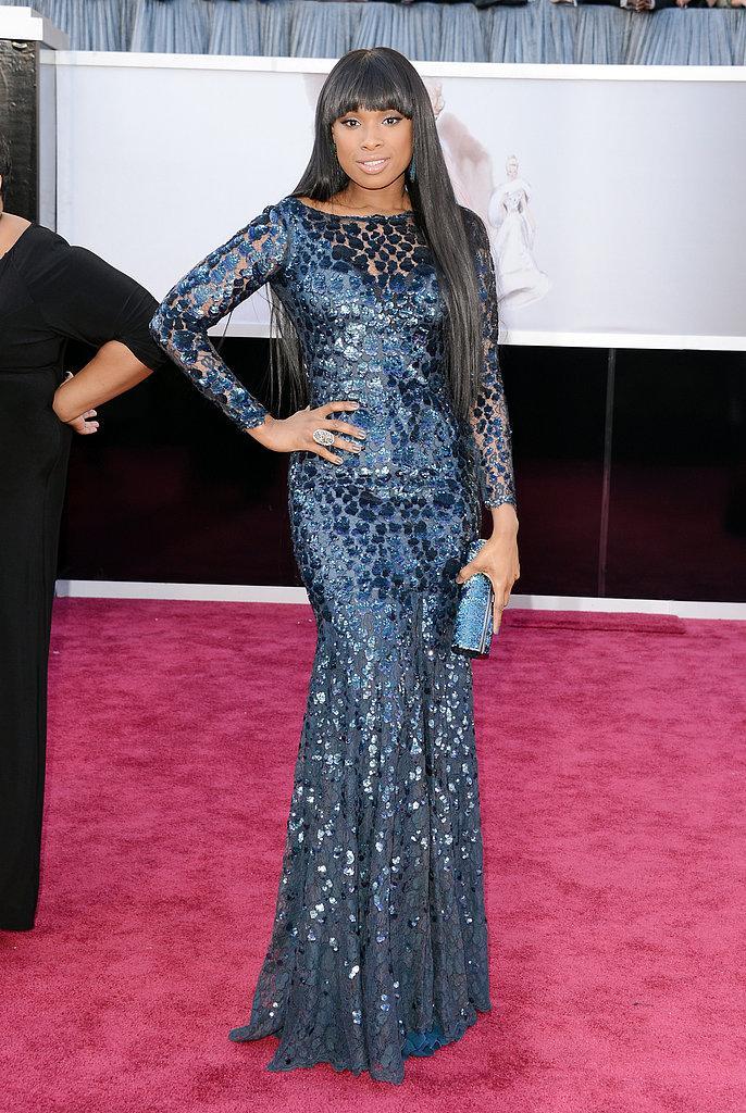 Jennifer Hudson en un Roberto Cavalli Oscars 2013: Los mejores looks en la alfombra roja de los Oscars 2013