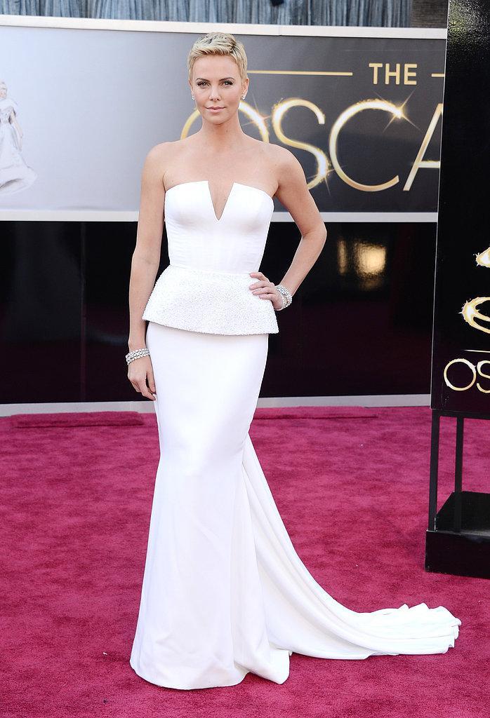 Charlize Theron en Dior Oscars 2013: Los mejores looks en la alfombra roja de los Oscars 2013