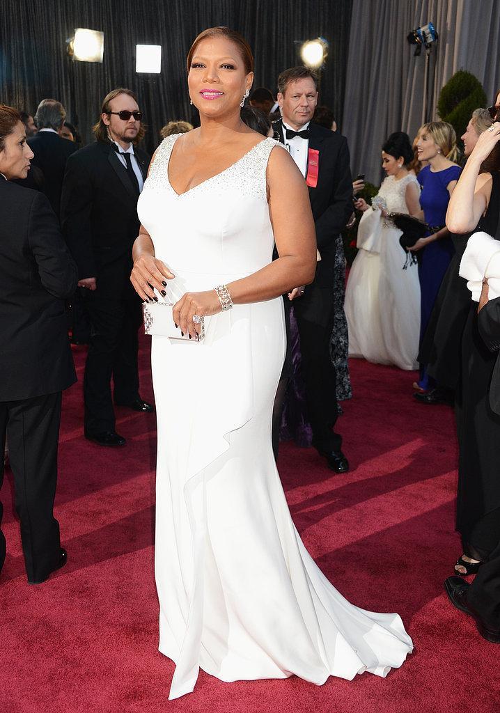 Queen Latifah en un Badgley Mischka Oscars 2013: Los mejores looks en la alfombra roja de los Oscars 2013