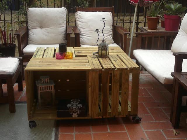 Diy x4duros 13 mesa encajada de nuria p paperblog for Mesa con cajas de fruta