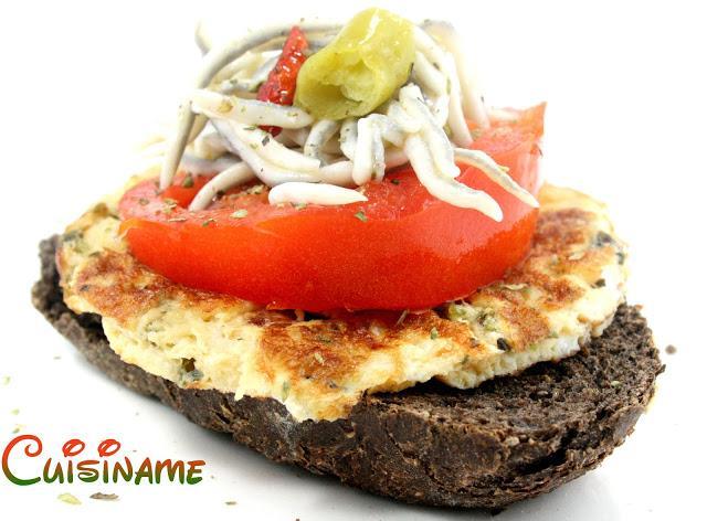 Pinchos de tortilla tomate y gulas paperblog Tapas francesas