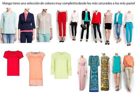 Análisis de los colores para esta Primavera-Verano 2013