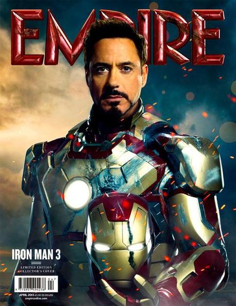 """Iron Man 3: Póster de Gwyneth Paltrow y portada de """"Empire"""" con Robert Downey Jr."""