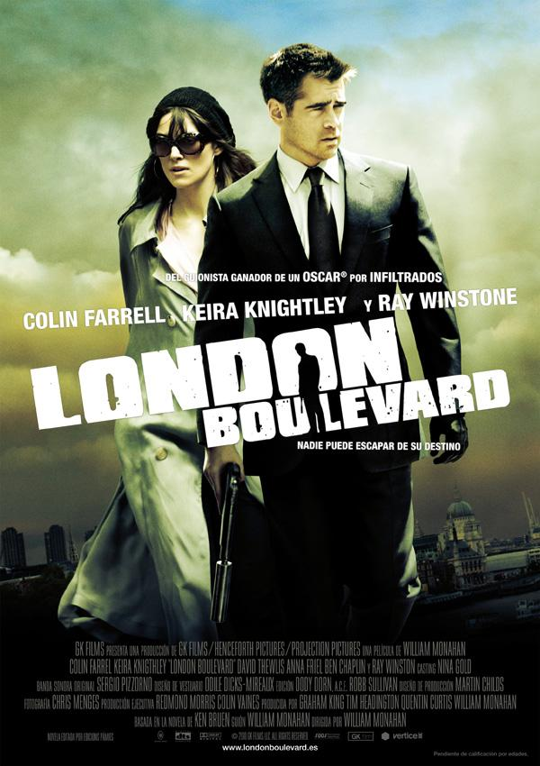 Póster: London Boulevard (William Monahan, 2.010)