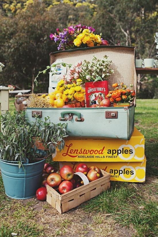 Reinventa con maletas vintage paperblog for Maletas vintage decoracion