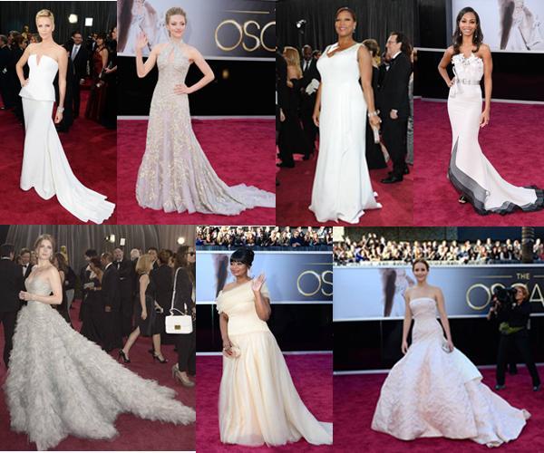 Vestidos Oscars 2013 (Novia)