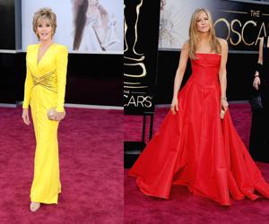 Vestidos Oscars 2013 (Colorido)