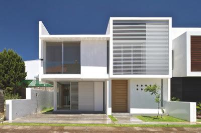 Mas fachadas modernas ii paperblog for Fachadas de casas modernas entre medianeras