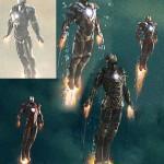 Armaduras nuevas en Iron Man 3