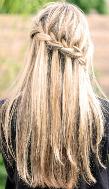 Encantador peinados con trenzas pelo corto Fotos de cortes de pelo tutoriales - PASO A PASO DE 3 PEINADOS CON TRENZA: pelo corto, media ...