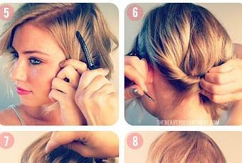 paso a de peinados con trenza pelo corto media melena y with peinados de fiesta con pelo corto