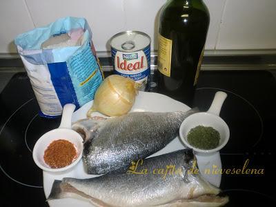 ingredientes dos doradas de racion 2 kg de sal para